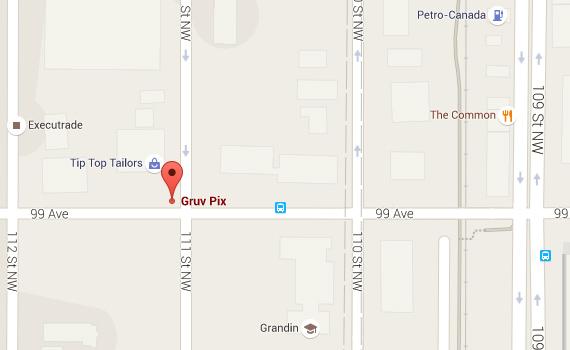 Gruvpix - Google Map
